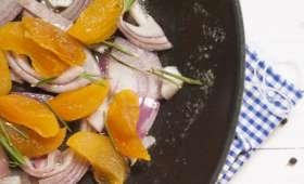 Rôti de bœuf en croûte aux abricots secs parfumé au romarin