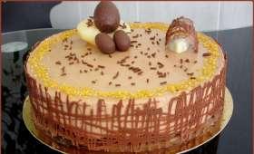 Entremets de Pâques poire chocolat