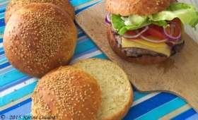 Le bun ou pain à hamburger