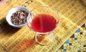 Vin de riz gluant noir