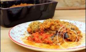 Aubergines alla parmigiana de Jamie Oliver