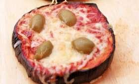 Aubergine's pizza