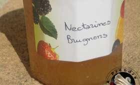 Confiture de nectarines brugnons au romarin