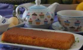 Gâteau à la rhubarbe, sans gluten, léger en calories (Danemark)