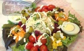 Salade au riz et thon