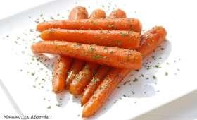 Carottes glacées aux épices