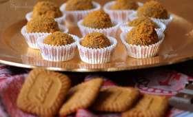 Truffe au chocolat & spéculoos sans oeufs