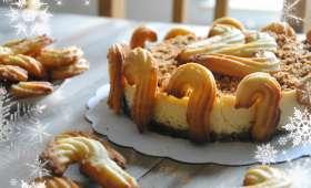 Cheesecake au spéculoos