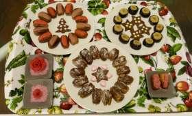 Fruits déguisés à la pâte d'amande maison