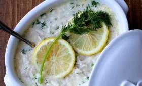 Soupe Avgolemono