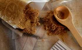 Sucre complet aux trois agrumes