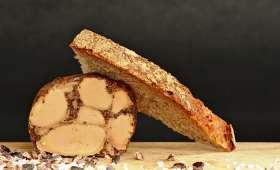 Foie gras tout feu, tout flamme et cacao