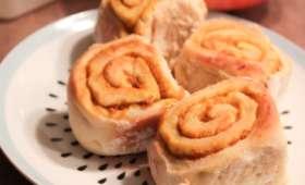 Cinnamon rolls vegan au potimarron et aux épices