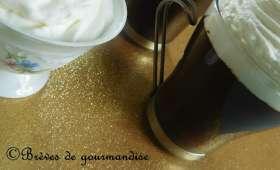 Crèmes liégeoises chocolat et chantilly