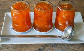 Confiture d'abricots