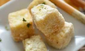 Tofu frit sel-poivre