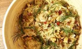 Salade de chou blanc et chou-rave