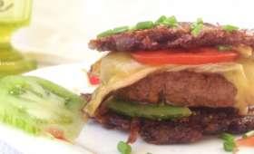 Paillasson Burger au Saint Nectaire