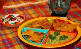 Nachos et Guacamole