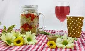 Salade de quinoa poulet et vinaigrette au citron