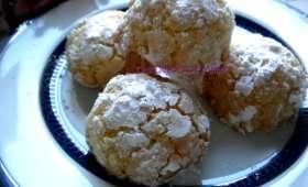 Ghoribas à la noix de coco