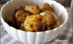 Pommes de terre nouvelles bouillies puis sautées, moelleux et croustillant assurés