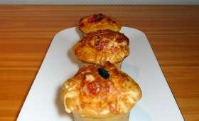 Muffins façon pizza