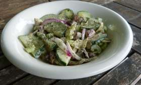 Salade de poulpe et artichauts