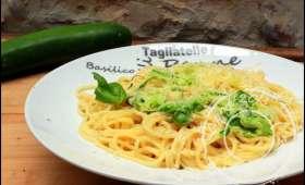 Pasta aux 2 spaghetti et crème de parmesan