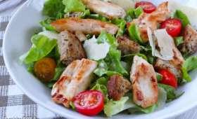 Salade César avec ou sans anchois