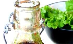 Vinaigrette sucrée à l'huile de pépins de courge
