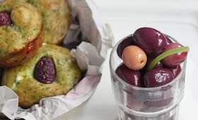 Muffins aux épinards