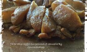 Tarte tatin légère aux pommes et à la cannelle