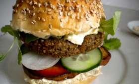 Le falafel burger