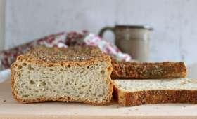 Pain à la farine de teff, riz complet et graines de chia