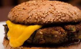 Hamburger champignon lentille