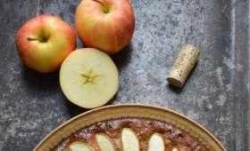 Gâteau Pommes et Caramel au beurre salé