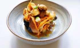 Poêlée de champignon à la japonaise sauce teriyaki