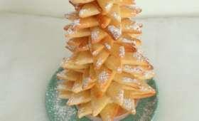 Sapin de Noël en sablés