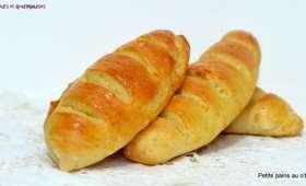 Petits pains briochés au citron.