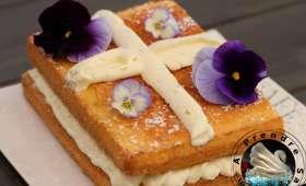 Gâteau de Savoie acidulé