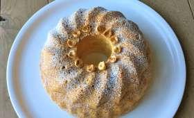 Biscuit de Savoie aux noisettes et citron vert