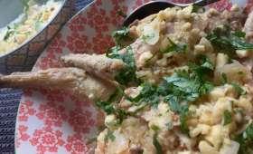 Curry de lapin aux amandes