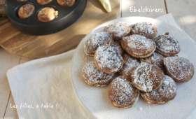 Ebelskivers, petites crêpes danoises