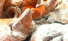 Bugnes au four qui finissent en friture parce que c'est comme ça