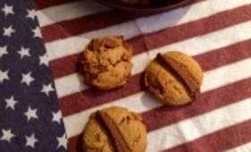 Cookies cacahuète chocolat au yaourt