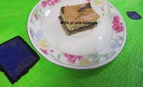 Gâteau à la farine de millet jaune et gelée de raisin pour ceux qui sont intolérants au gluten