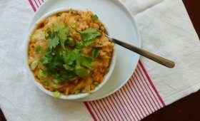 Mac'n'cheese au kimchi