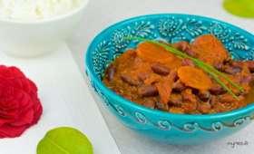 Curry de haricots rouges