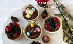 Cheesecakes au chocolat
